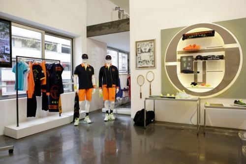 L'interno della sede di via Savona 97