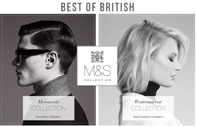 Marks & Spencer collezione Best of British