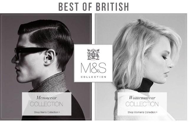 Marks & Spencer collezione Best of British