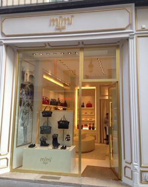 Lo store Mimì Capri a Parigi