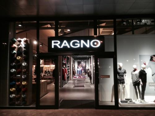 Lo store Ragno a Busnago