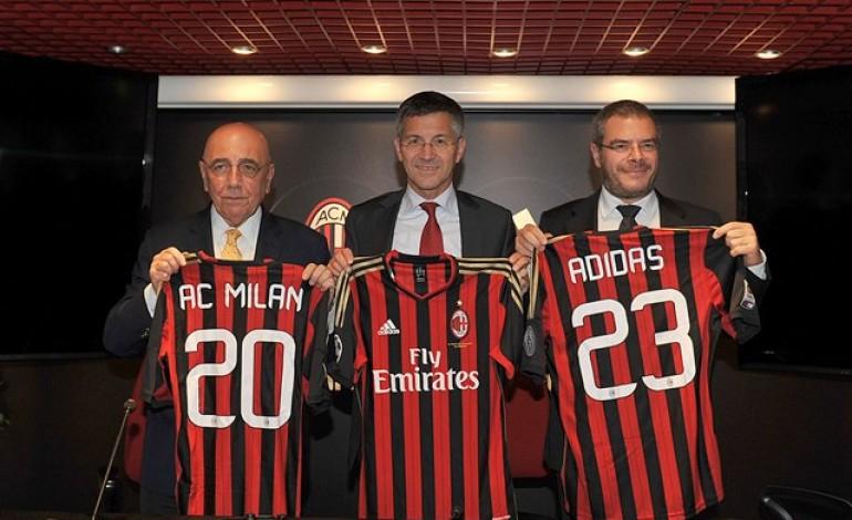 Adidas e Milan insieme fino al 2023