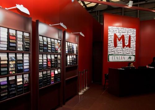 Uno stand di Milano Unica Shanghai