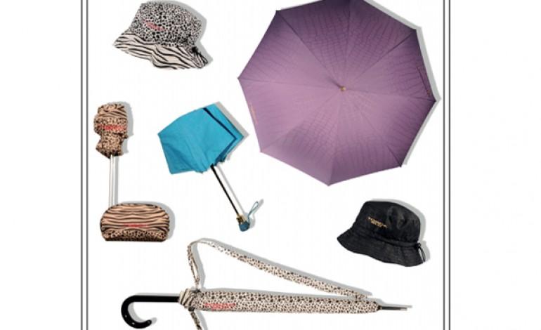 Gli ombrelli di Tosca Blu in licenza ad Aqueodesign