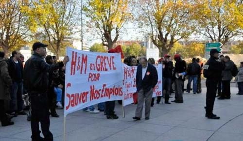 Uno sciopero nello stabbi