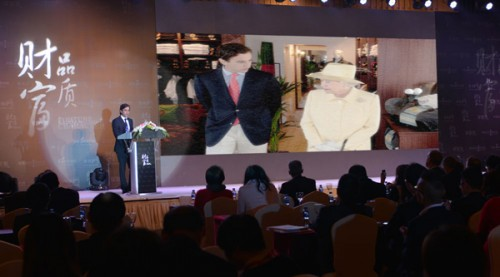 Adrian Simonetti al Luxury Summit in China