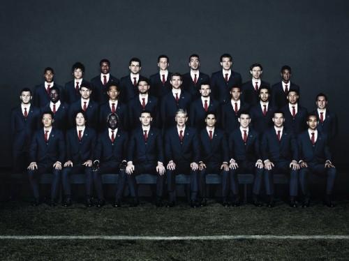 Lanvin firma le divise dell'Arsenal