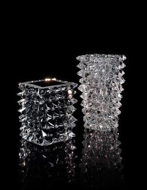 I vasi 'Rostri' della collezione Murano Luxury Glass