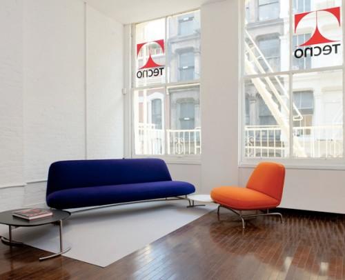 Un'immagine dello showroom di New York