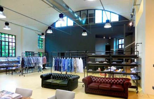 Lo showroom Giemme Brandscorporate di Milano