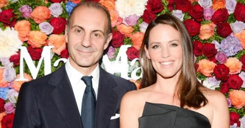 Luigi Maramotti e Jennifer Garner
