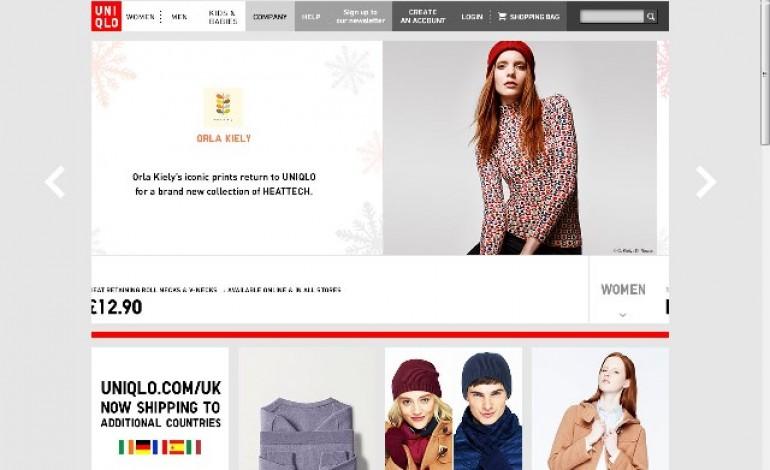 Uniqlo lancia l'e-commerce in Italia