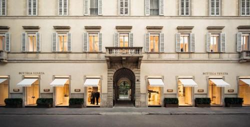 La maison milanese di Bottega Veneta