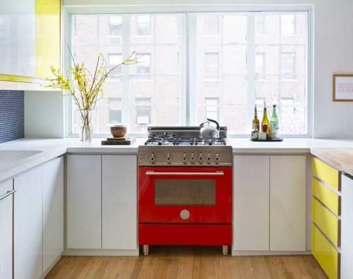 Una cucina Bertazzoni