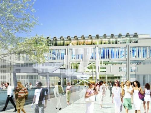 Rendering del nuovo look del Paris Expo Porte de Versailles
