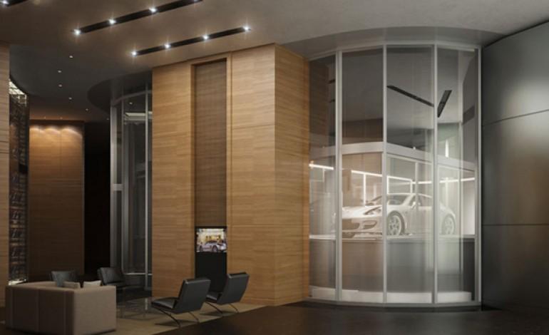 Porsche Design porta le auto in appartamento