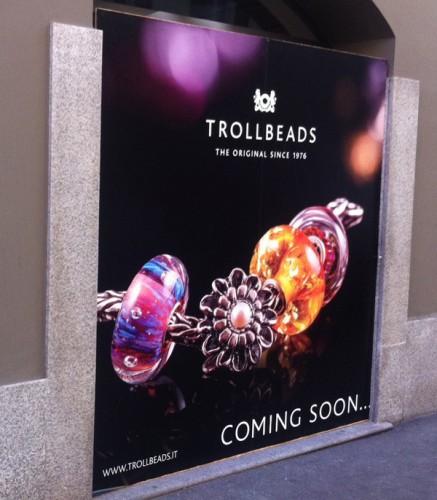 Trollbeads in via Pontaccio 3 a Milano