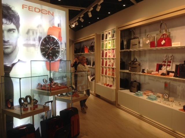Fedon store Aeroporto Roma