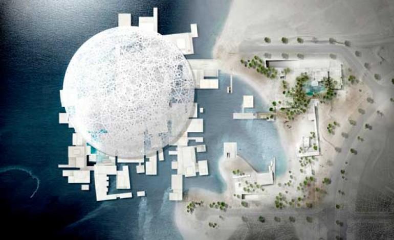Il Louvre di Abu Dhabi prende forma