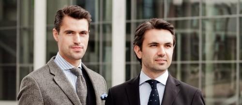 Moritz Offeney e Marco Reiter co-fondatori di Scarosso