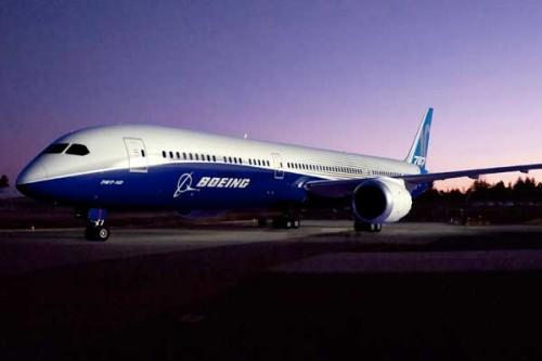 Un aereo Boeing