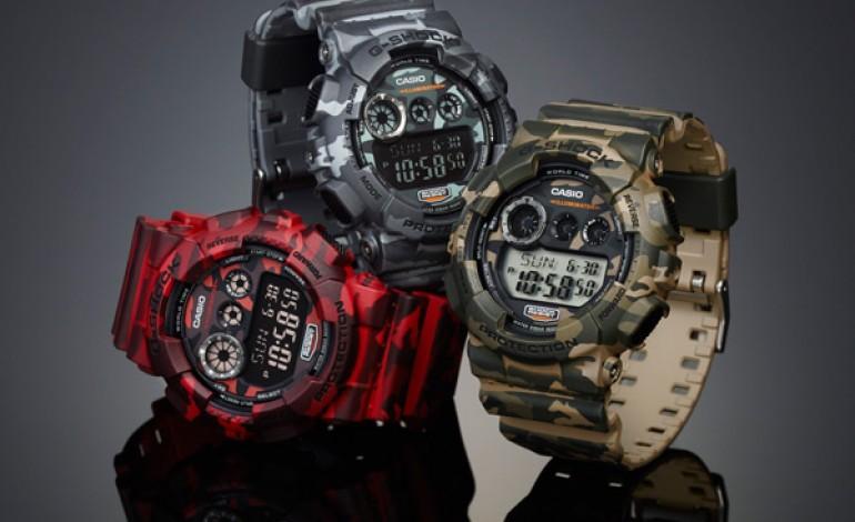 G-Shock, scatta l'ora del camouflage!