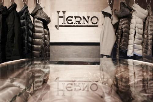 Lo store di Herno a  Sylt