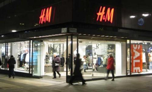 Uno store H&M