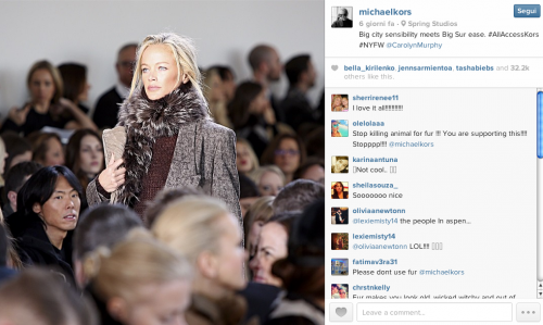 La sfilata a New York 'postata' da Michael Kors su Instagram