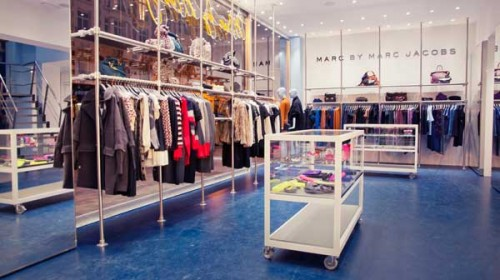 Uno store Marc by Marc Jacobs.