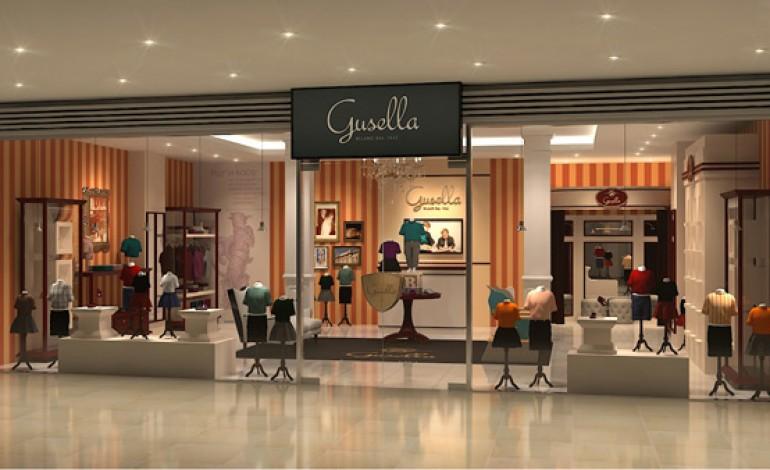 Prima boutique all'estero per Gusella
