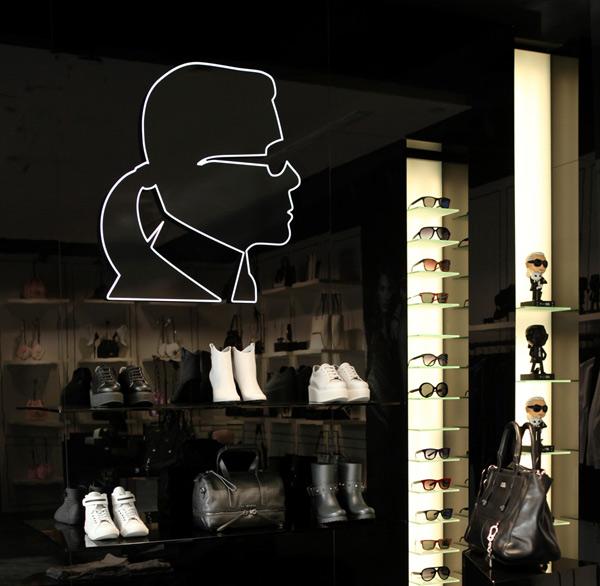 Il negozio di Karl Lagerfeld a Istanbul