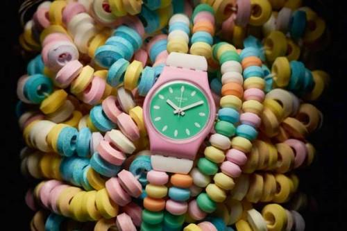 Un orologio Swatch