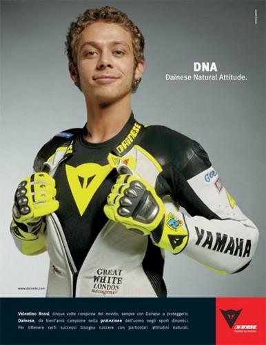 Valentino Rossi per Dainese