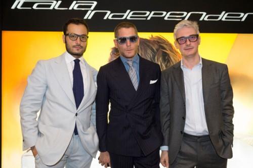 Giovanni Accongiagioco, Lapo Elkann e Andrea Tessitore, fondatori di Italian Independent