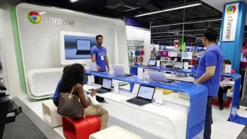 Il pop up store di Google aperto a Londra nel 2011