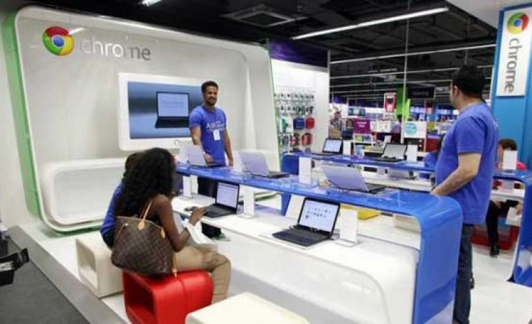 Google apre a Londra il primo Shop