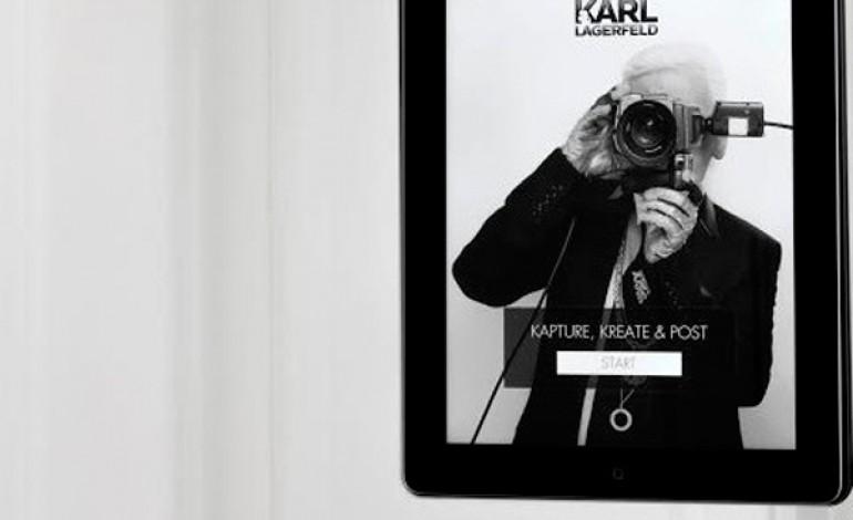 Da Karl Lagerfeld il selfie si fa in camerino