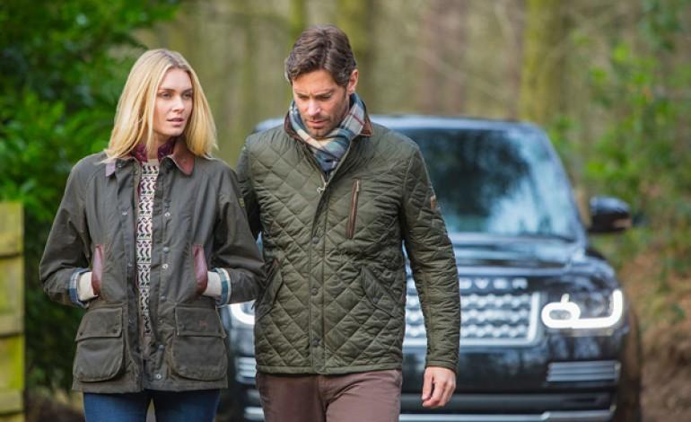 Nasce l'abbigliamento 'Barbour for Land Rover'