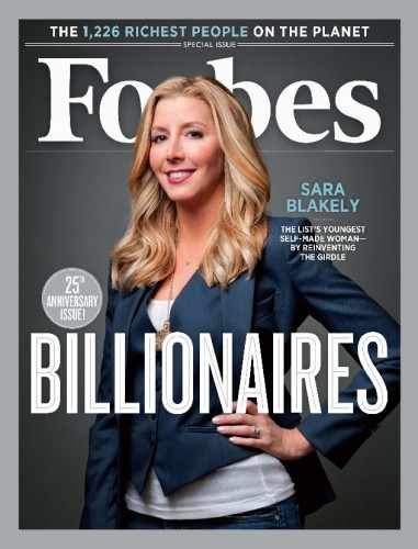 Una copertina di Forbes