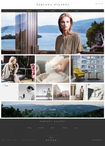Home page Fabiana Filippi