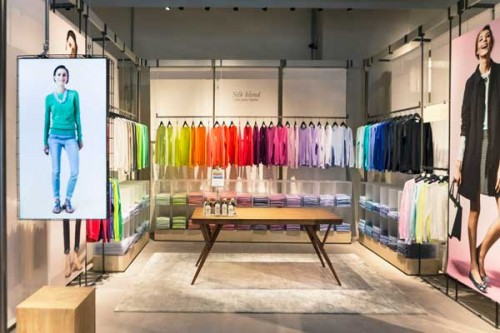Color room - Benetton piazza Duomo, Milano