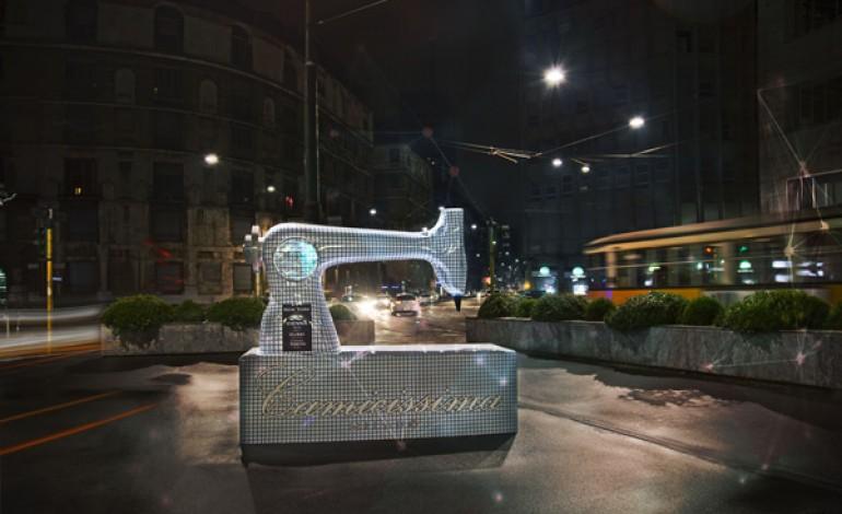 Camicissima festeggia 10 anni con installazioni a Milano