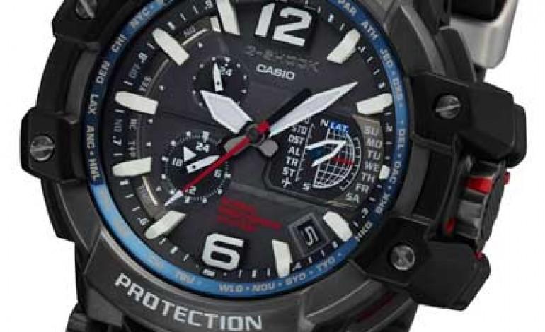 Casio, segnale radio e Gps nel nuovo G-Shock