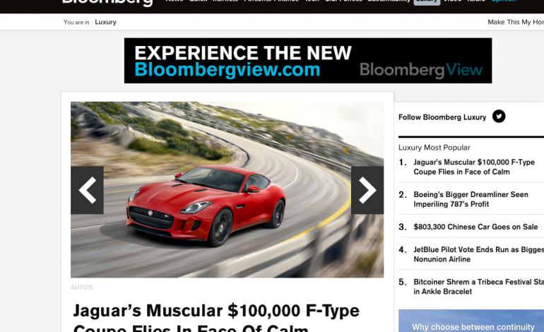 Bloomberg investe sulle e-news del lusso