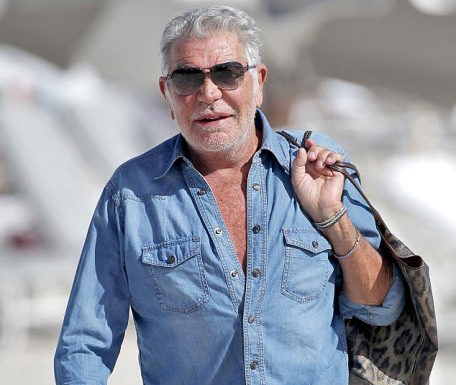 Roberto Cavalli a Miami. (ph: Kaffee/Monnet. Pacific Coast News)