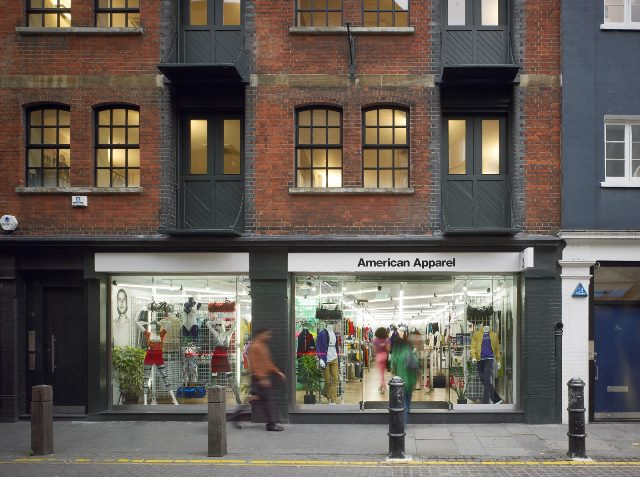 American Apparel Covent Garden