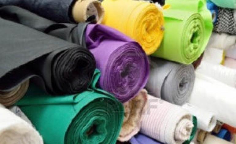 Tessile-moda, appena +0,3% nel trimestre