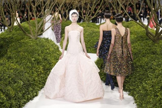 Dior Haute Couture P/E 2013 disegnata da Raf Simons
