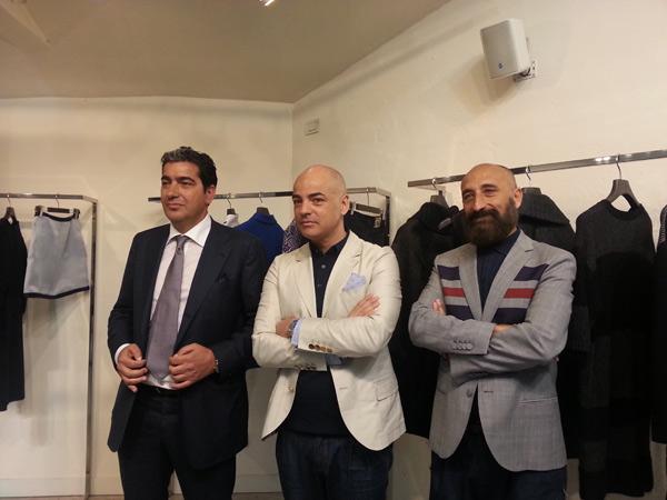 Donato Ammaturo, Pierfrancesco Gigliotti e Maurizio Modica